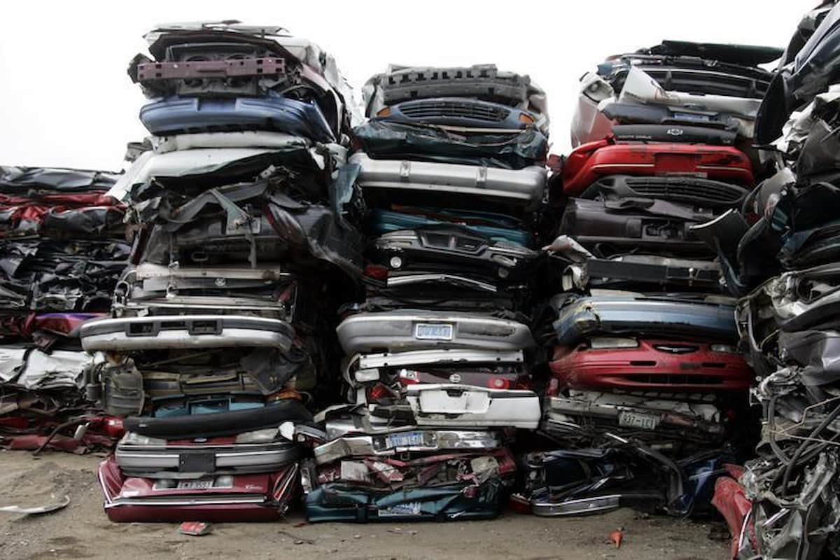 Most cars wear down to junk status