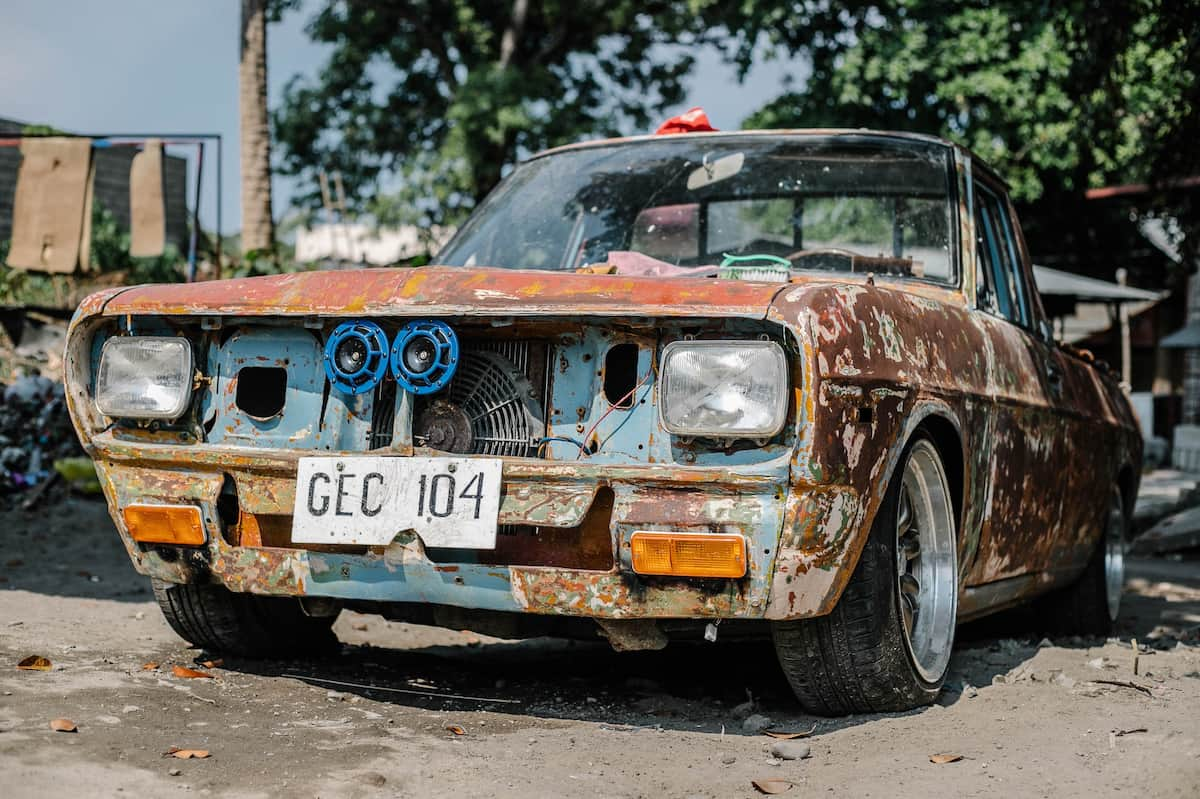 A Junk Car can be a Risk to your Safety