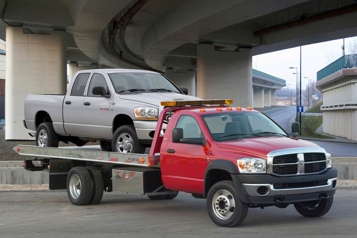 Is it important to be in your vehicle before your car is towed