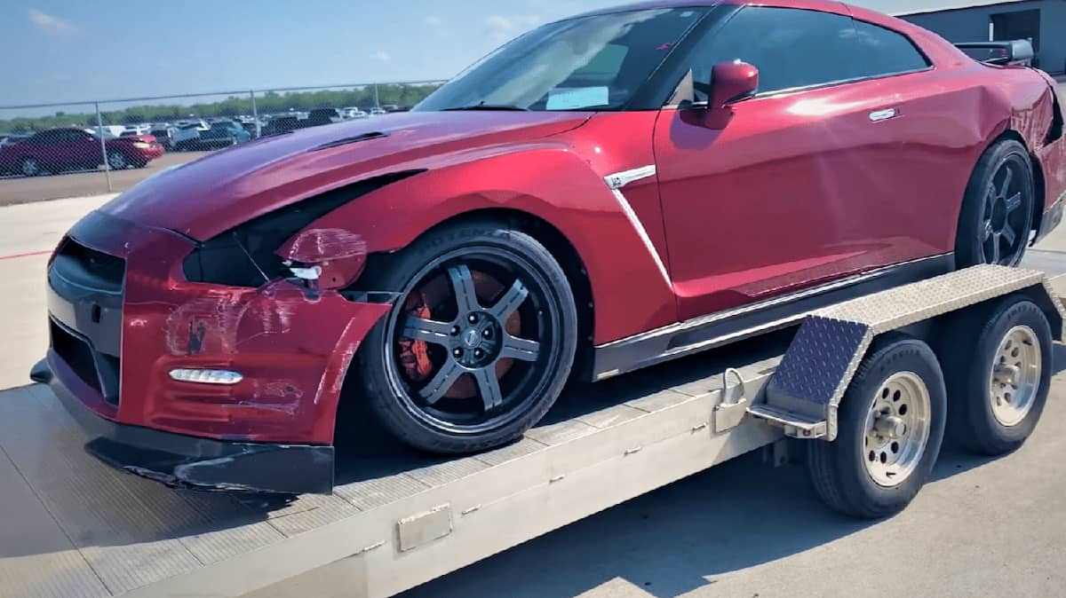 Junk car's year, make, and model