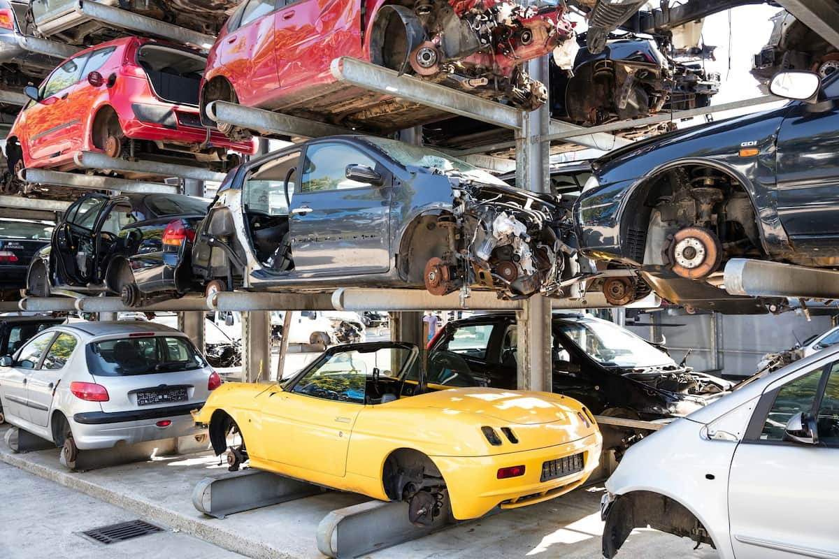 how much to junk a car